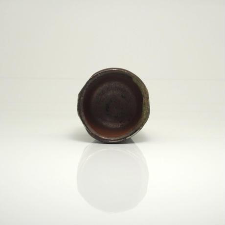 No.163:YOHEN SHINO SAKE Cup「窯変灰被ぐい呑」