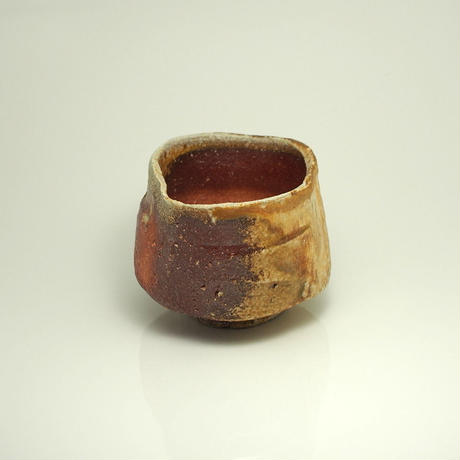No.22:YOHEN Natural Ash Glaze Tea Bowl「窯変灰被茶盌」