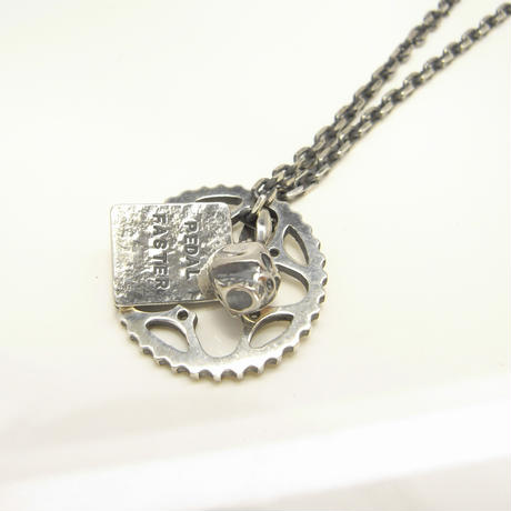 34T chainring necklace+skull+plate