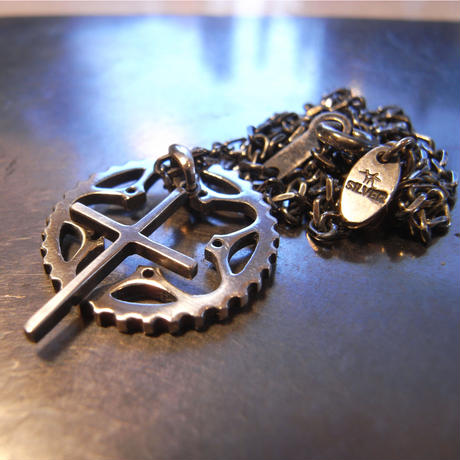 34T chainring necklace+Cross