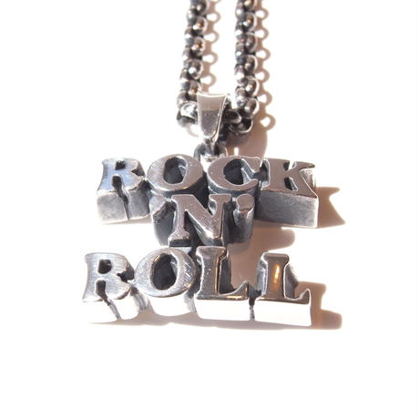 「ROCK 'N' ROLL」necklace