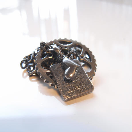 34T chainring necklace+heart bean+plate