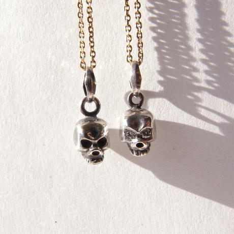 baby skull necklace