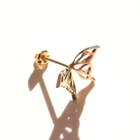 butterfly pierce | Small |k18yg