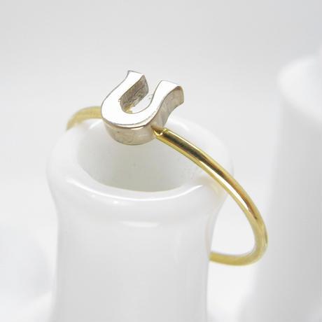 sottile - horseshoe ring