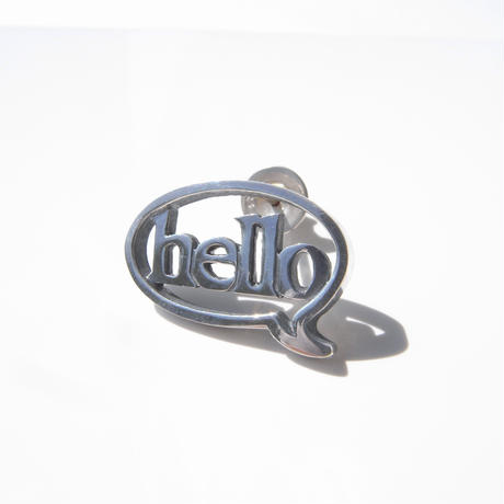 baby!! balloon+hello pierce | silver