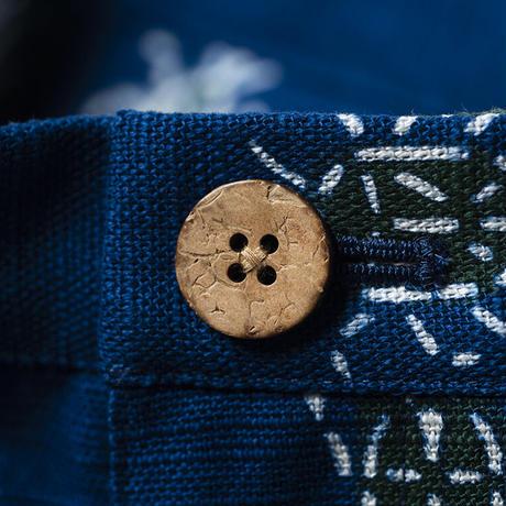 ショートパンツ |虫ならべ|型染の服 2021 夏
