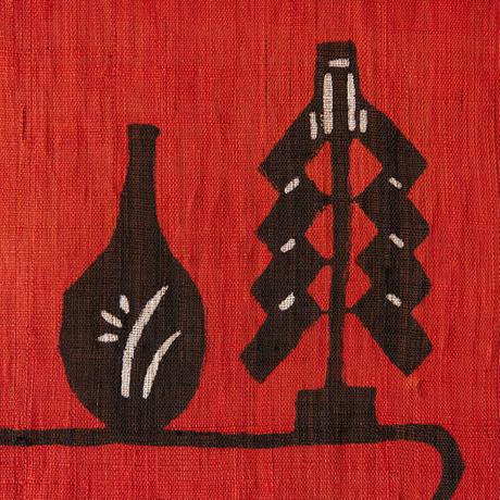 麻タペストリー|飾り棚