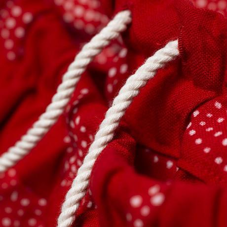 サルエルパンツ  祈りの葉 型染の服 2021 夏
