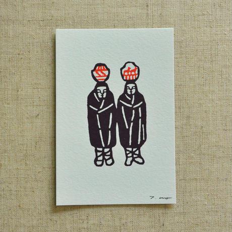 ポストカード|双子