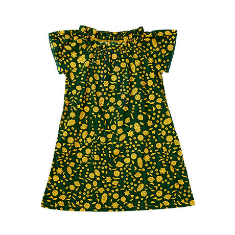 キッズワンピース|黄色い花|steteco.com