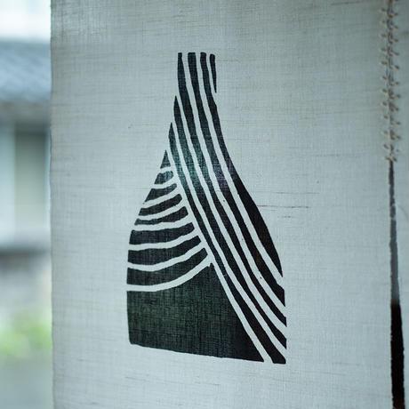 麻のれん|櫛引陶