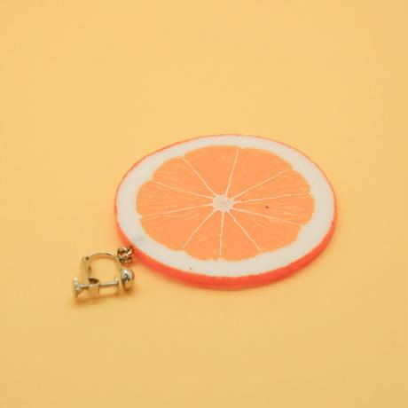 イヤリング オレンジスライス