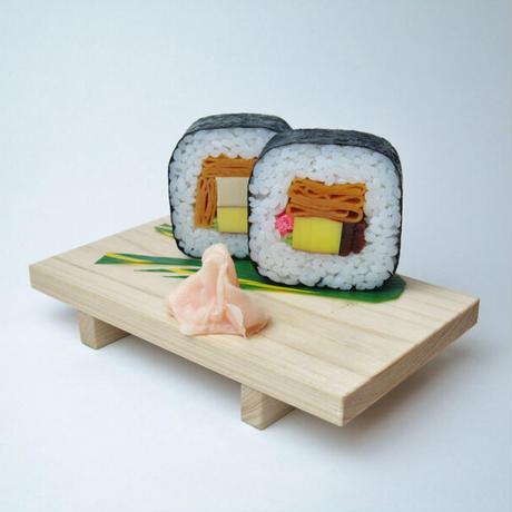 スマホスタンド  巻き寿司