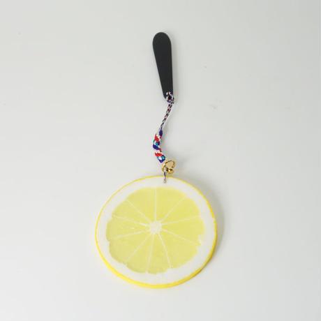 帯飾り レモンスライス