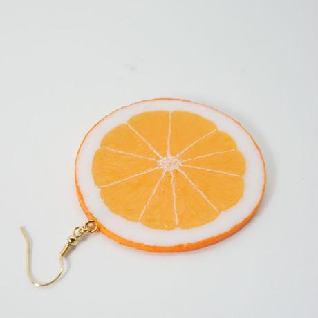 ピアス オレンジスライス