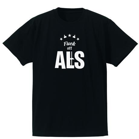 Fuck off ALS(ALSチャリティーTシャツ)ブラック