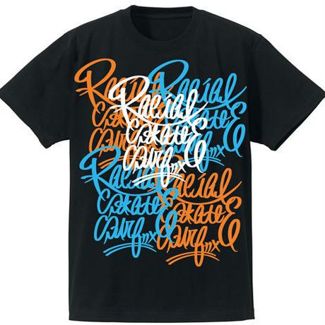 RACIAL コローレ Tシャツ(ブラック)