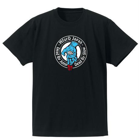 2018 M4D デッドハンドTシャツ(ブルー)