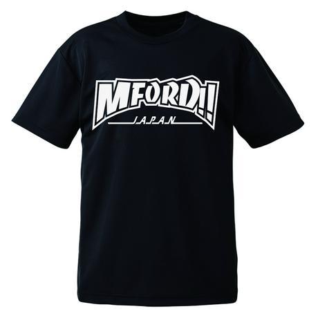 M4DマスターTシャツ「ドライ素材」ブラック