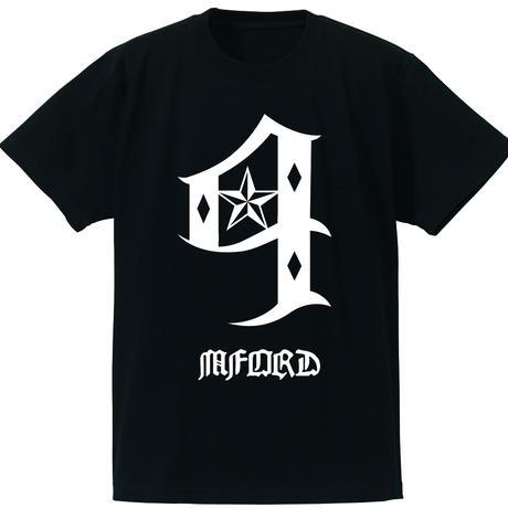 【値下げ】M4DJAPAN No,4 Tシャツ (BK)