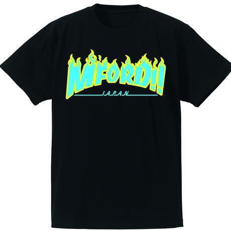 2017年M4DJAPAN公式Tシャツ  ジュニア ブラック