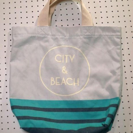 【Cliff】City&Beachトートバッグ/カラフルデザインバッグ/ビーチバッグサーフバッグサーフィン