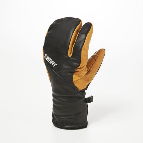 Hawk Under 3-Finger Mitt / SXB-10/ BLACK-SEGALE