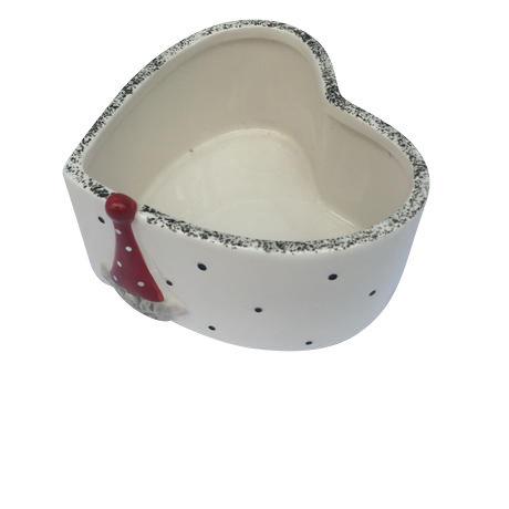 サンタさんの陶器の器(中)