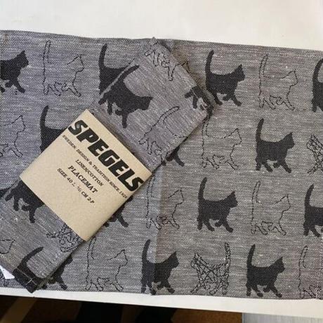 猫ランチョマット2枚組み