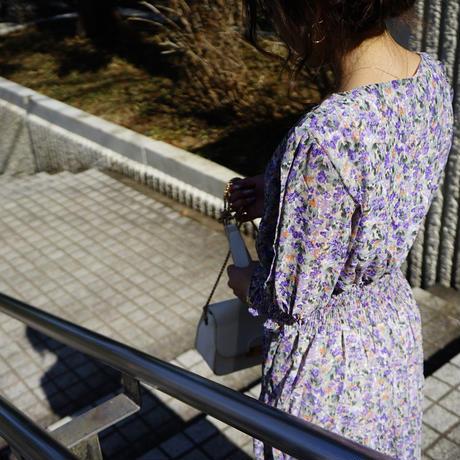 花柄ティアードワンピース//2colors
