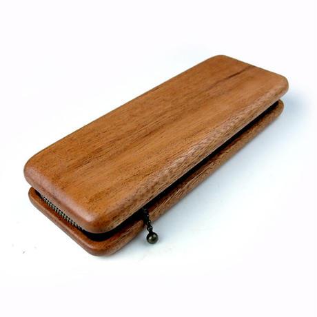Cokie Sand Pencase 木とチャックのペンケース