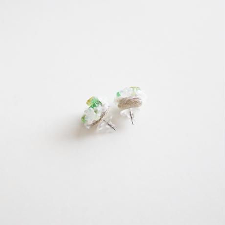 「紫陽花と雨のワルツ」ピアス