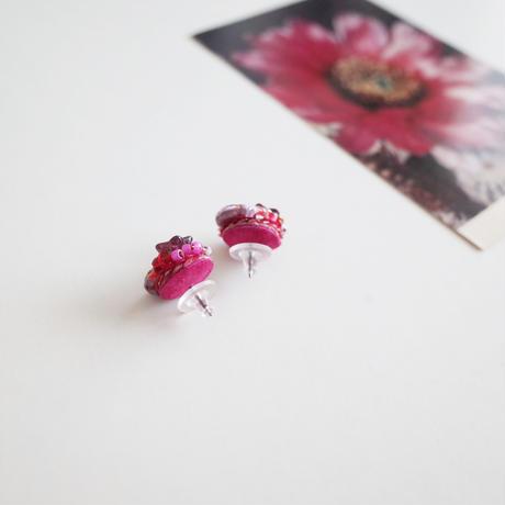「アネモネの花束」ピアス