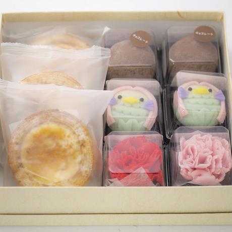 母の日セット(カーネーション和菓子とアマビエ和菓子)