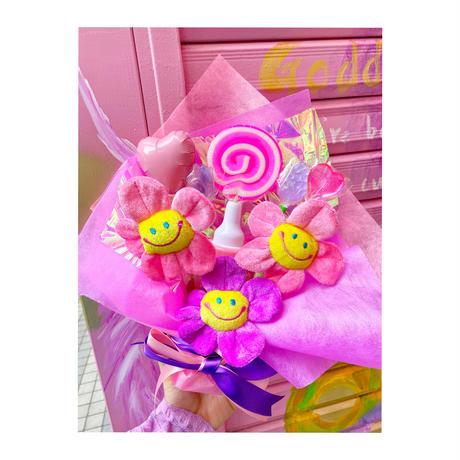 原宿ブーケ(ピンク×パープル)