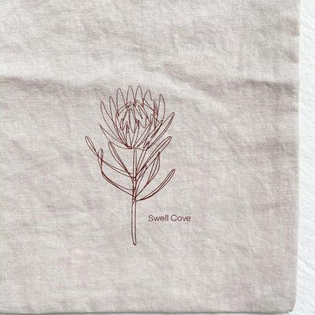 【swellcove】Original  Printed  Linen  Pouch