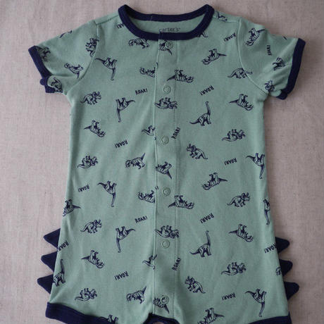 【carter's】ROAR! Dinosaur Snap up Romper