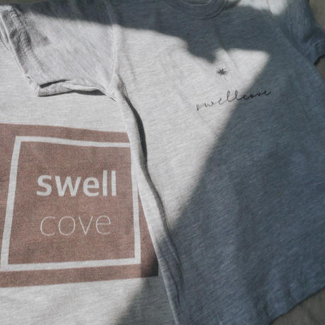 【swellcove】Box Logo Tee