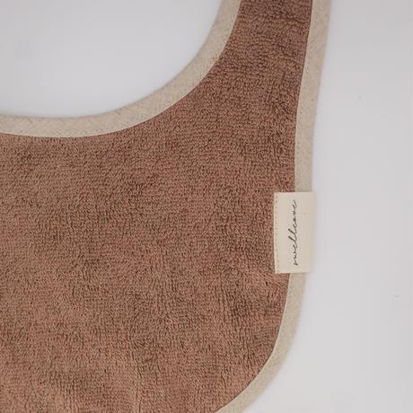 Organic Baby Bib 【Linen Cocoa】