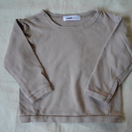 【swellcove】Cotton Sweat Tops Pink