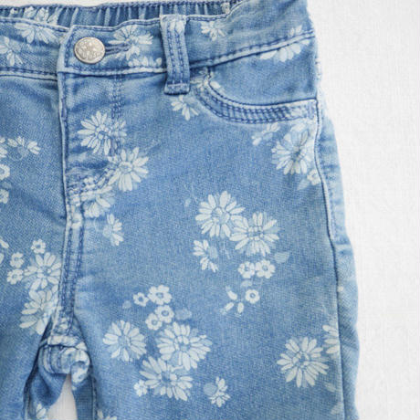 【oshkosh】Frower Denim Leggings