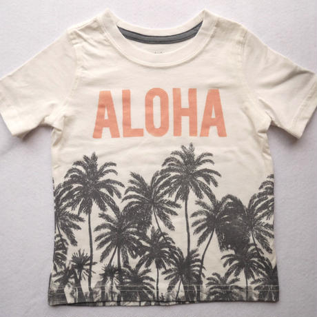 【carter's】 ALOHA パームツリーTshirt