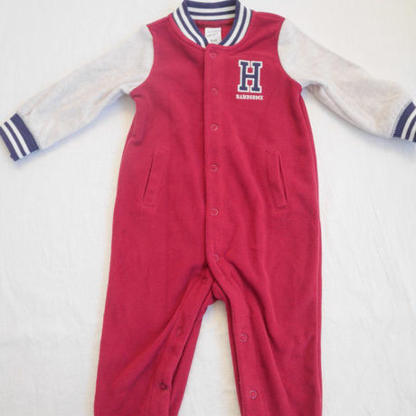 【carter's】fleece body suits HANDSOME