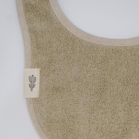 Organic Baby Bib【Linen Khaki】