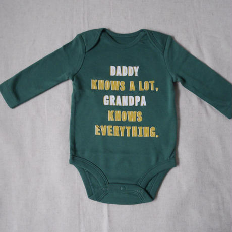 【carter's】Daddy Knows Message Bodysuit