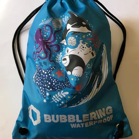 BubbleRIng  オリジナルスイムバッグ(防水加工)