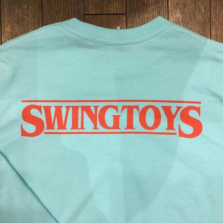 SWINGBUNNY ロンT /ターコイズブルー