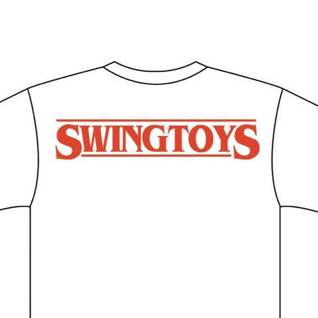 SWINGBUNNY Tshirt マスクver &  SWINGBUNNY Blue  Fugure & SWINGTOYS  PINS&Sticker