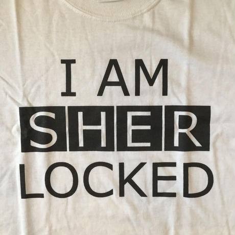 I AM  SHERLOCKED white
